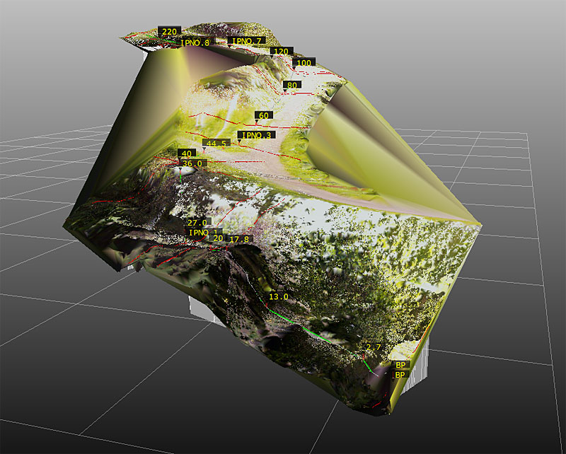 3D地上レーザー測量